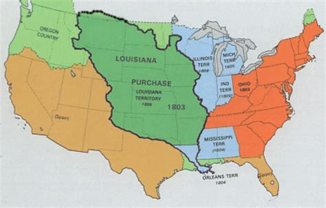 louisiana purchase map quotes from the louisiana purchase quotesgram
