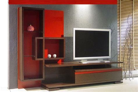 tv unit interior design modern cool lcd tv unit designs