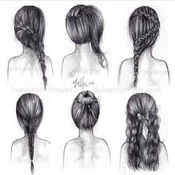 pencil drawing of hair styles of hand drawing hair styles favorite hair styles