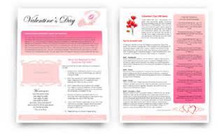 valentines newsletter template punkcturobaf valentines newsletter template