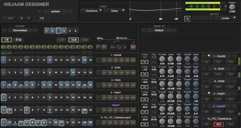 drum pattern vst wejaam designer free pattern based drum machine vsti