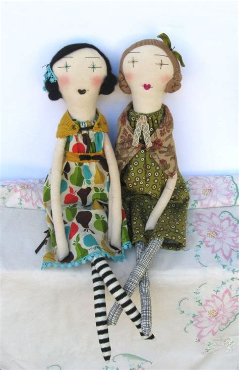 Handmade Ragdolls - handmade rag dolls eco friendly one of a