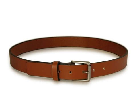 Handmade Mens Leather Belts - mens light brown leather belt handmade leather belt