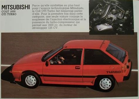 mitsubishi colt turbo interior mitsubishi colt turbo retro 80 s hatch honda ads