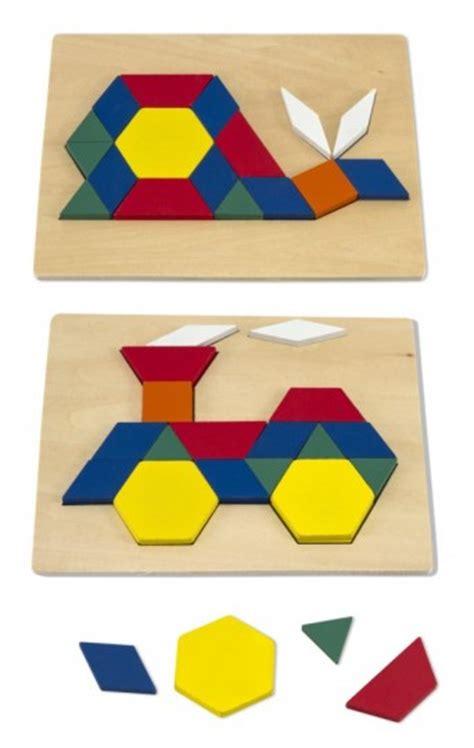 wood pattern blocks pattern blocks and boards montessori by mom