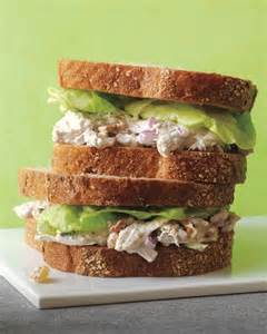 chicken salad recipes martha stewart poached chicken salad sandwiches recipe video martha