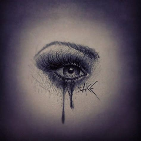 crying eye tattoo best 25 ideas on eye