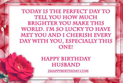 Wishing A Husband A Happy Birthday Happy Birthday Wishes Quotes For Husband 2happybirthday