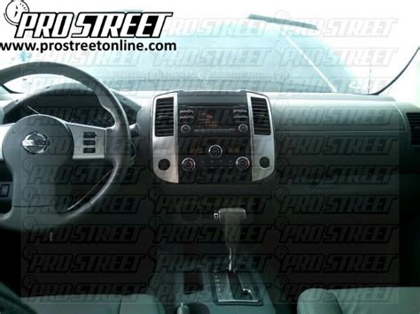 nissan frontier stereo wiring diagram  pro street