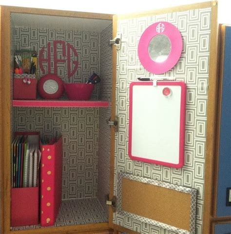 Locker Diy Decorations by Locker Decor I The Wallpaper Withy The Pink But I
