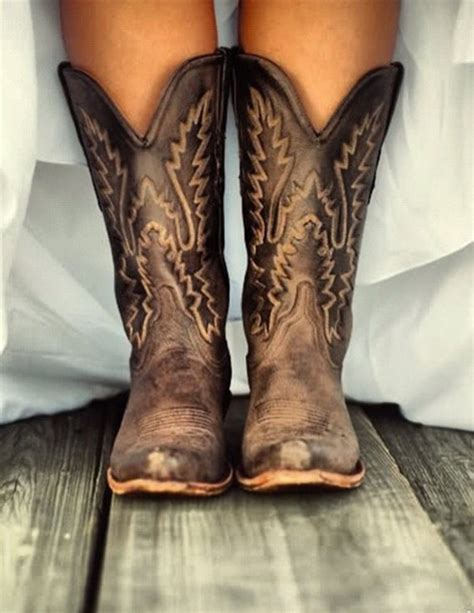 shoes boots cowboy boots boots brown leather