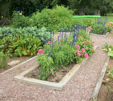 formal vegetable garden garden tour former gravel quarry site and lots of compost