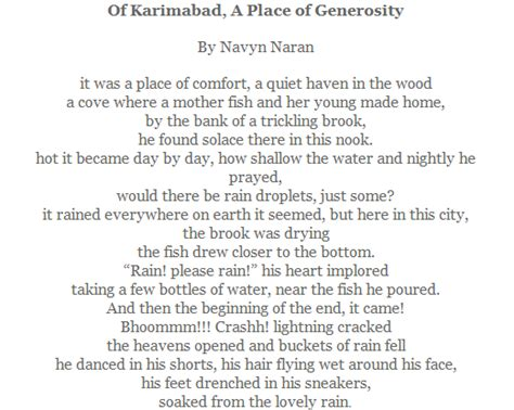 A Place Poem Poem Of Karimabad A Place Of Generosity Ismailimail