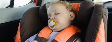 infant sleeping in car seat safe baby infanttech