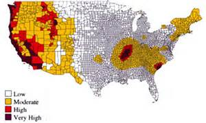 us seismic design category map seismic design principles wbdg whole building design guide