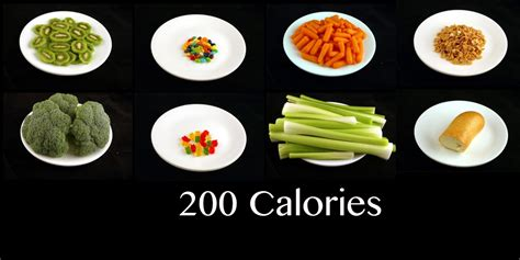What 200 Calories Look Like What Does 200 Calories Really Look Like Science Vibe