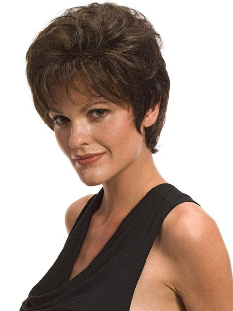 short wig hairstyles for square faces wigs for square faces over 50 short hairstyle 2013