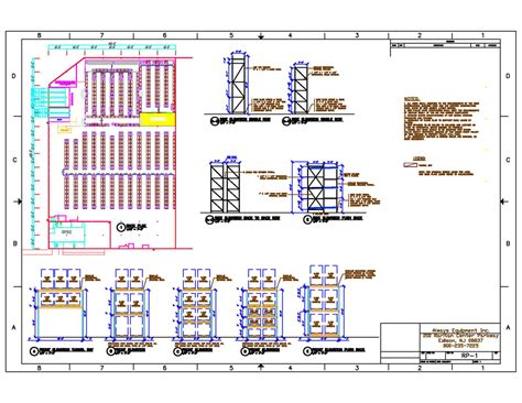 Layout Design Always Equipment Inc Warehouse Rack Layout Excel Template