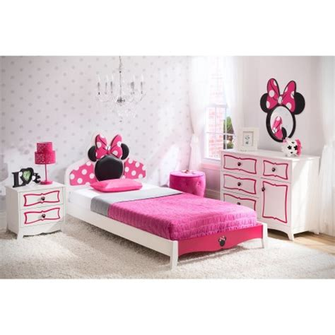 mickey and minnie mouse bedroom set minnie mouse 4 piece bedroom set mickey fix