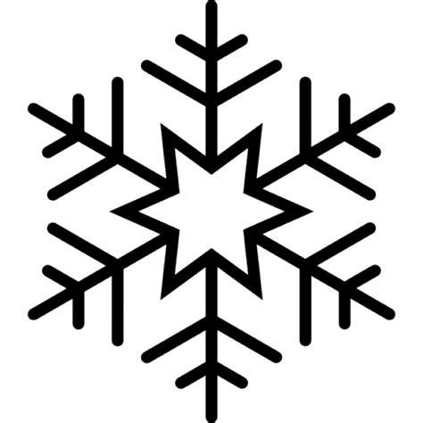 Kostenlose Vorlage Schneeflocke Sechs Zackigen Schneeflocke Der Kostenlosen Icons