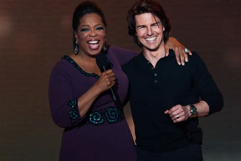 Tom Cruise And Are Normal Absolutely Normal by I Zarin In Heels Oprah Farewell
