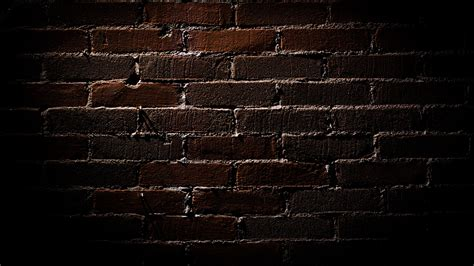 dark brick wall background texture brick dark wallpaper 1920x1080 75732 wallpaperup