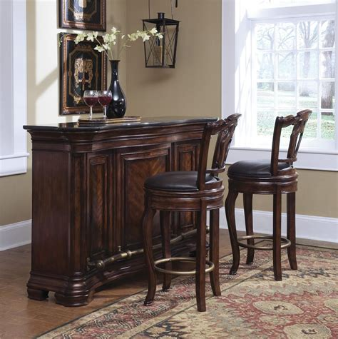 pulaski toscano vialetto dining collection d657240 pulaski furniture accents toscano vialetto bar set with