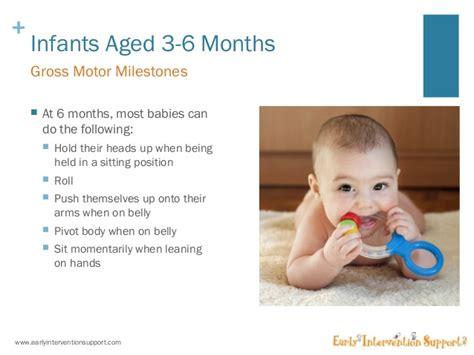 infant motor skills development gross motor skills development for infants