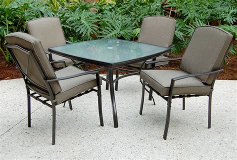 5pc Patio Set sc j 250 2nnset irvington 5 pc patio dining set sears