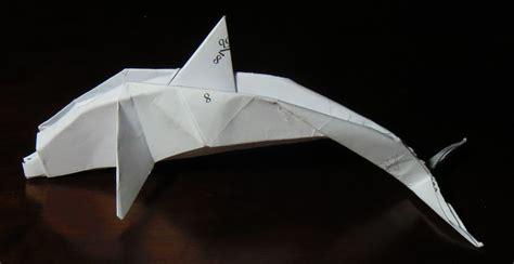 Origami Dolphin - dolphin printable origami