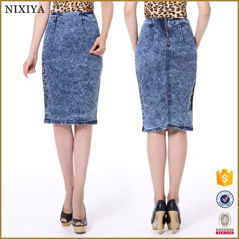 wholesale denim skirts tight skirts blue jean