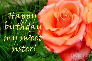 birthday wishes images with flowers sister clipartsgram com