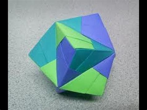 Origami Stellated Octahedron - origami stellated octahedron images