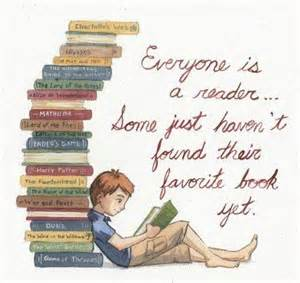 favored books everyone is a reader some just haven t found their