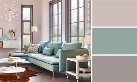 Salon bleu et taupe peinture couleur teintes tendance pour tout