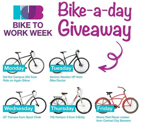 Cycling Giveaway - bike to work and you could win a trip for two to croatia daily hive vancouver