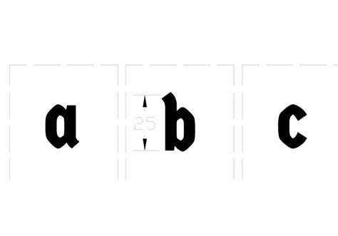 dafont jawa pisau cuting huruf tipe font germania one dengan tinggi 2