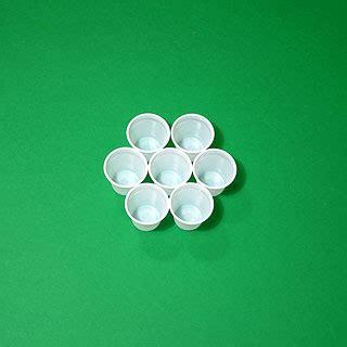 sfere con bicchieri di plastica il problema di tammes e le sfere di bicchieri