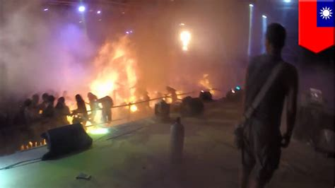 theme park explosion burned alive new video from taiwan s deadly formosa water