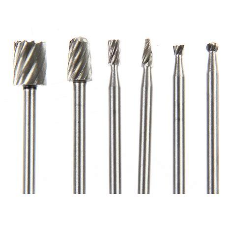 pcs dremel rotary tool mini drill bit set cutting tools