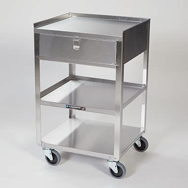heavy duty utility cart with drawers item 11876 stainless steel utility cart with drawer
