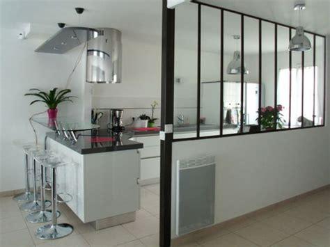 agréable Separation Vitree Cuisine Salon #5: verriere-cuisine-couloir.jpg