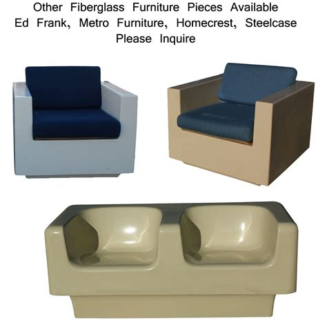 Fiberglass Furniture by Midcentury Retro Style Modern Architectural Vintage