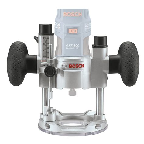 Router Bosch Gkf 600 bosch te 600 plunge base for gkf 600 routers powertool world