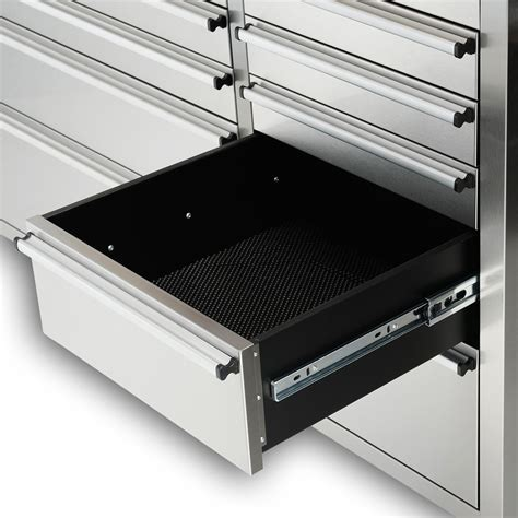 stainless steel tool cabinet 72 quot stainless steel 15 work bench tool box chest