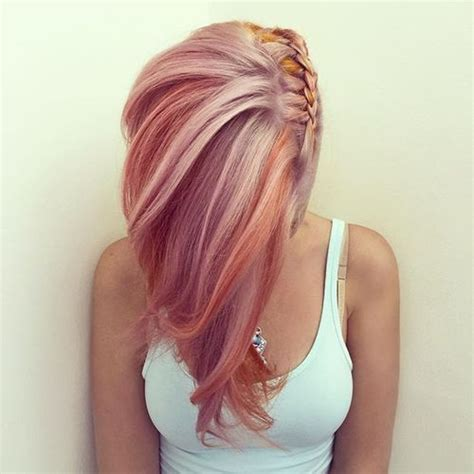 blondehairstyles with redpink in 19 glorious pink hair style ideas for spring pastel hair