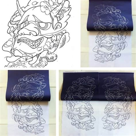 Tattoo Stencil Paper At Home | tattoo stencil transfer spirit paper hectograph carbon ws011