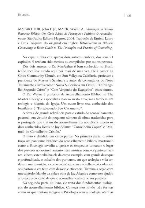 Teologia para vida - v. I, nº 1 by REVISTA TEOLOGIA PARA