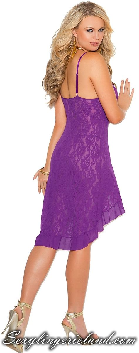 Evening Black Purple Satin Nightdress Gstring 59 best robes gowns images on gown gown dress and nightgown