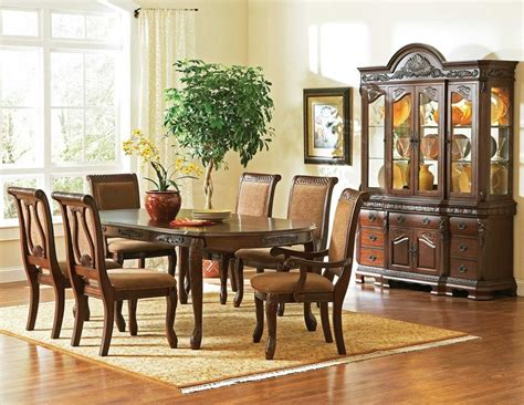 haddon cherry formal dining room set free shipping